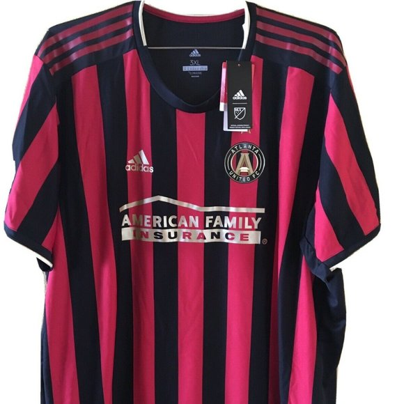 3XL Size Adidas Atlanta United FC Soccer Jersey
